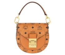 Umhängetasche Patricia Visetos Mini Shoulder Bag Cognac