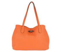 Tote Roseau Essential Tote Bag M Leather Orange orange