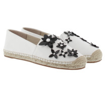 Lola Espadrille Optic White/Black Espadrilles