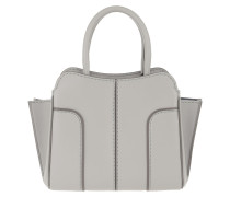 Sella Mini Tote Leather Grey Tote