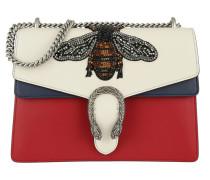 Dionysus Shoulder Bag White/Red/Blue Satchel rot