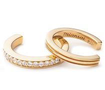 Ohrringe Eclipse Ear Cuff Set Vermeil Polished Gold