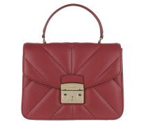 Satchel Bag Metropolis S Top Handle Ciliegia rot
