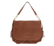 Janine Suede Shoulder Bag Brule Tasche