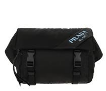 Gürteltasche Belt Bag Nylon/Leather Black schwarz