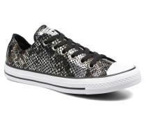 Chuck Taylor All Star Fashion Snake Ox Sneaker in schwarz