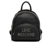 Sac à dos Love Studs Rucksäcke für Taschen in schwarz