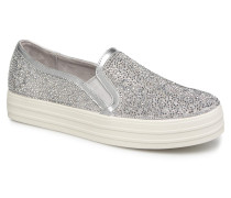 Double Up Glitzy Gal Sneaker in silber