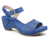 Sigaco saio denim Sandalen in blau