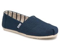 Alpargata Sneaker in blau