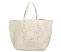 Paul & Joe Sister CABAS PERFORE CHAT Handtasche in beige