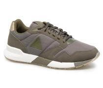 Omega X W Metallic Sneaker in grün