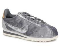 Cortez Velvet Sneaker in grau