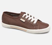 Aberlady Python Sneaker in braun