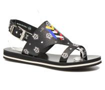 COLORBLOCKSANDALE Sandalen in schwarz