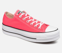 Chuck Taylor All Star Clean Lift Seasonal Color Extension Ox Sneaker in rosa