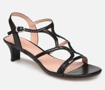 BIRKIN X Sandalen in schwarz