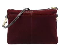 Mini bag Handtasche in weinrot