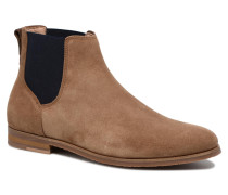 Apollon Chelsea Suede Stiefeletten & Boots in braun