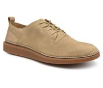 Hale Lace Sneaker in beige