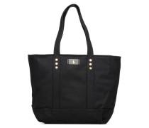CLASSIC CANVAS TOTE M Handtasche in schwarz