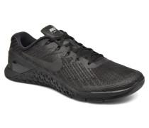 Metcon 3 Sportschuhe in schwarz