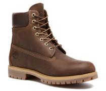 """Heritage 6"""" Premium Stiefeletten & Boots in braun"""
