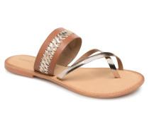 Timo leather sandal Sandalen in braun