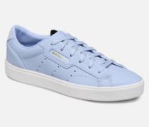 Adidas Sleek W Sneaker in blau