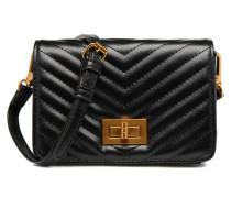 Rekiwi quilted shoulderbag Handtasche in schwarz