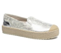 Kathe Espadrilles in silber
