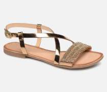 45278 Sandalen in goldinbronze