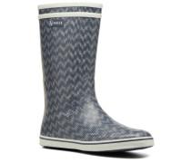 Malouine Print Stiefeletten & Boots in blau