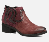 Feabese Stiefeletten & Boots in weinrot