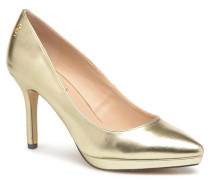7214 Pumps in goldinbronze