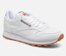 Classic Leather Sneaker in weiß