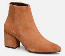 VMASTRID LEATHER BOOT Stiefeletten & Boots in braun