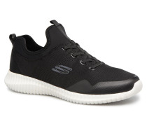 Elite FlexLasker Sneaker in schwarz