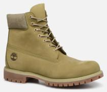 6 Inch Premium B W Stiefeletten & Boots in grün