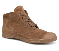 Derbys Suede Sneaker in braun