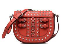 Belt Studs Crossbody Handtasche in rot