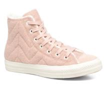 Chuck Taylor All Star Wool Hi Sneaker in rosa