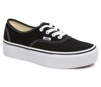 Authentic Platform 2.0 Sneaker in schwarz