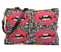 PARDEGNA Large Beaded Pouch Mini Bag in mehrfarbig
