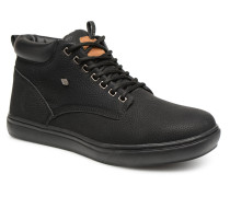 Wood M Sneaker in schwarz