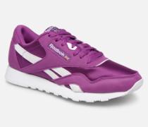Classic Nylon Color Sneaker in lila