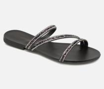 Nil slide Clogs & Pantoletten in schwarz
