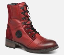 Duke Stiefeletten & Boots in rot