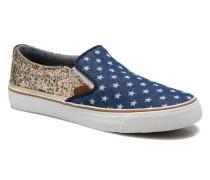 Alford Party Stars Sneaker in blau