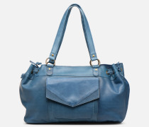 BETH LEATHER BAG Handtasche in blau